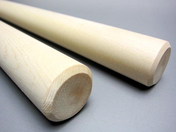 画像3: ひのきバチ 9分×1尺3寸 2本1組