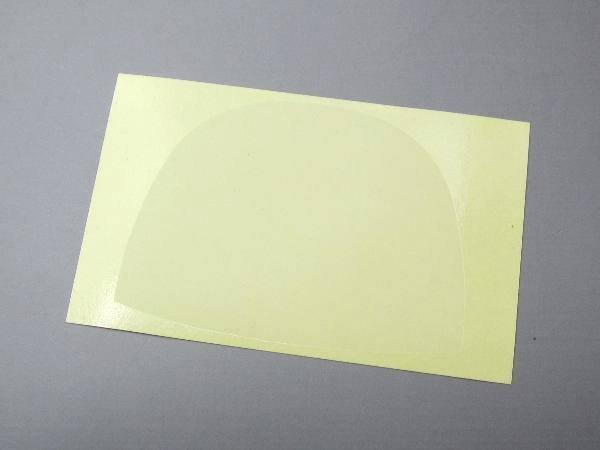 画像1: 半月型撥皮シール 厚口