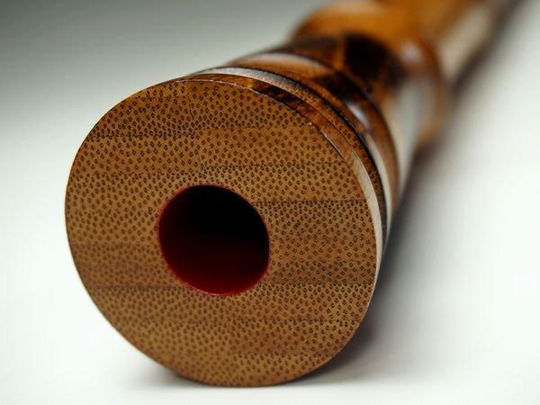 画像4: 胡蝶宝尺八 合竹 都山流 1尺8寸