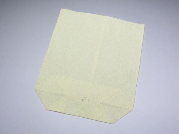 画像1: 和紙袋 小胡弓用 モミ